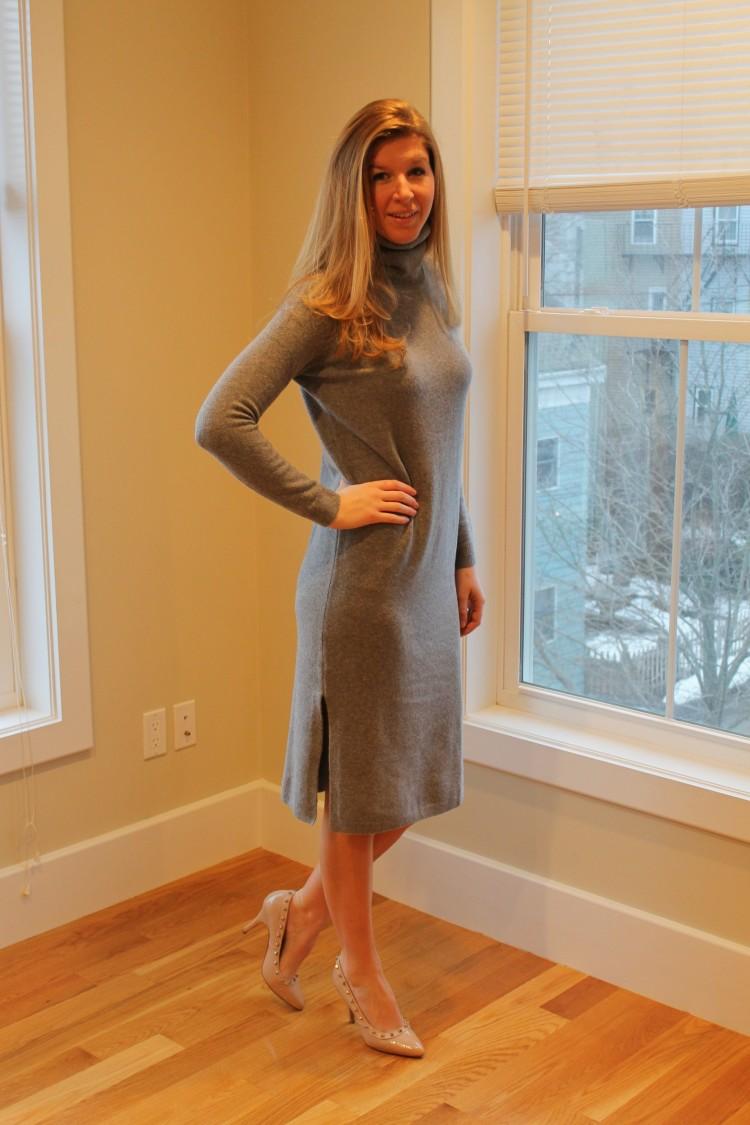 long-grey-sweater-dress